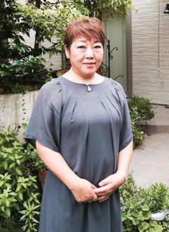 代表 前野芳子